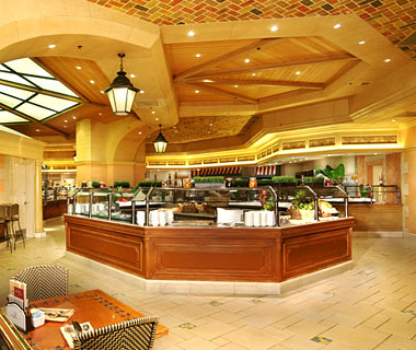 The Bellagio Buffet is one of the first luxury buffets on the Las Vegas Strip. Highly rated, and world renowned, you can always count on great food in a nice atmosphere.