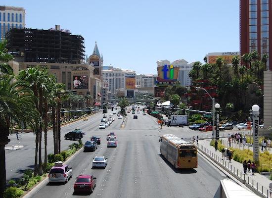 Rue D Une Ville Las Vegas