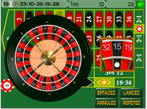 Roulette europeenne flash