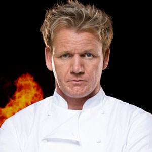 chef ramsay height