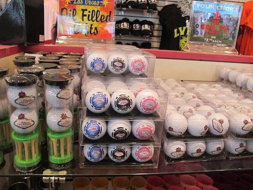 balles de golf Las Vegas