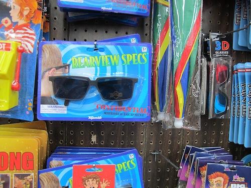 lunettes avec miroir