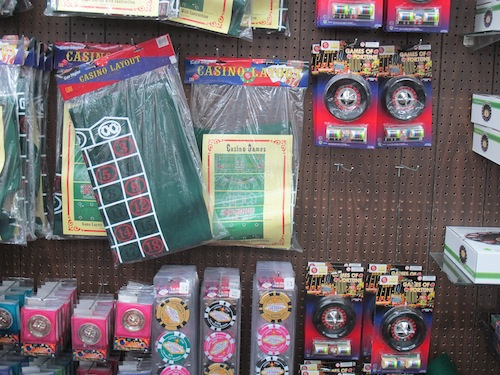 tapis de jeux Vegas