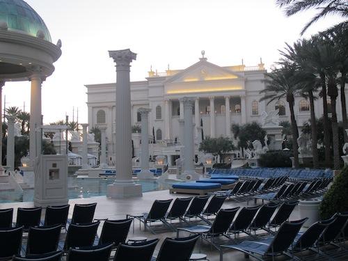 piscine Caesars Palace