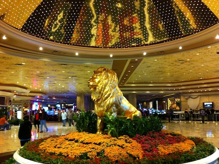 Hall accueil MGM Grand