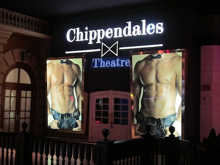 Chippendales theatre