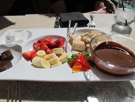Fondue chocolat Sugar Factory