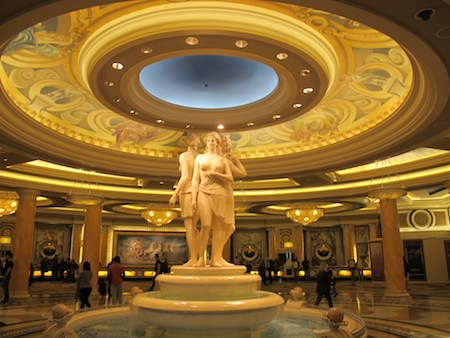 Hall reception Caesars Palace