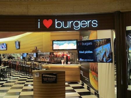 I love Burgers Palazzo