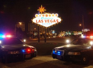 Police Las Vegas Sign Photo ©SebastienFREMONT