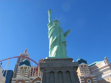 Statue liberté Las Vegas