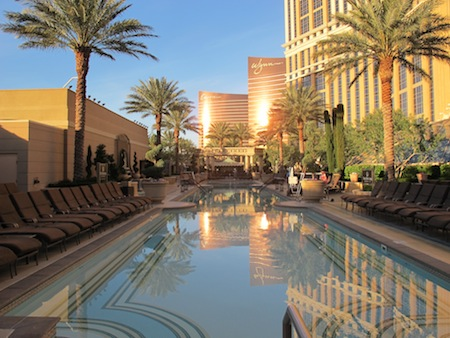 piscine Palazzo Las Vegas