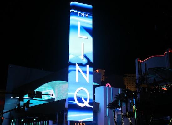 Ecran de pub The Linq Las Vegas
