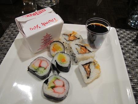 Assiette Sushi
