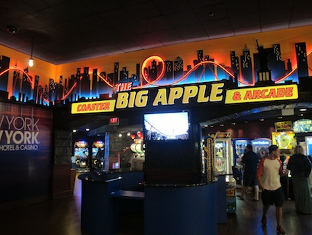 The Big Apple Coaster & Arcade