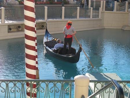 Tour de Gondole au Venetian