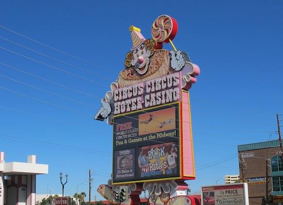 hotels pour enfants Las Vegas