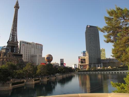 Las Vegas au petit matin