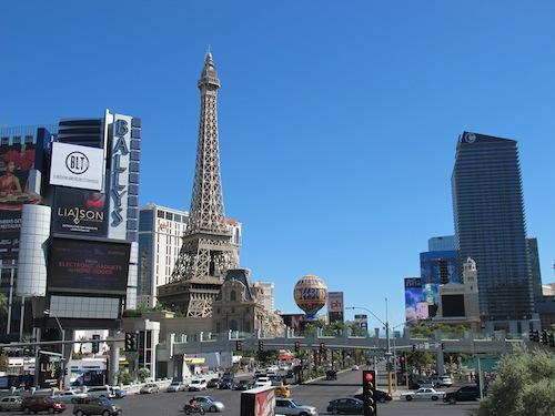 Vegas au mois d'Aout