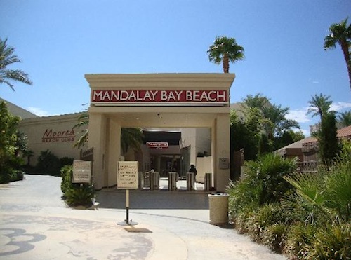 Mandalay Beach Entrance