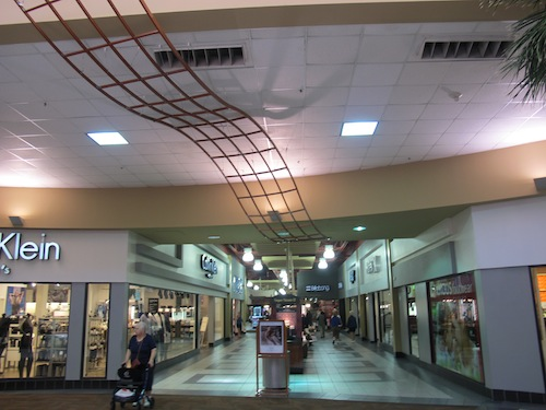 Allée intérieure Outlet Sud Las Vegas