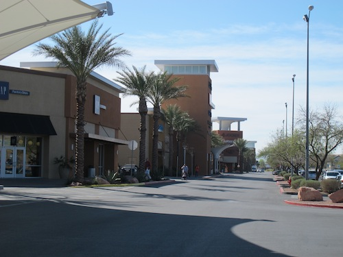 Parking Outlet Sud Las Vegas
