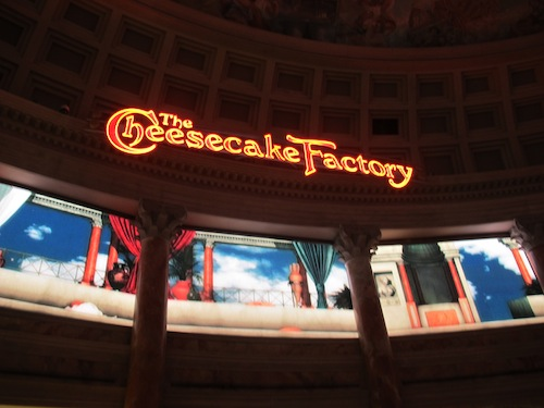 Cheesecakefactory Caesars Palace