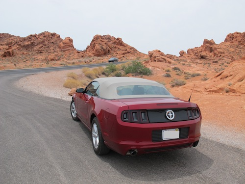 Ford Mustang Valley of fire