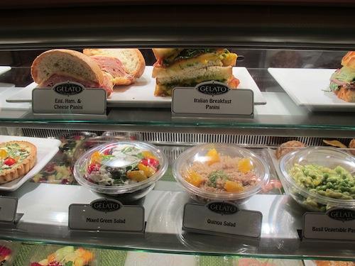 Panini et salades