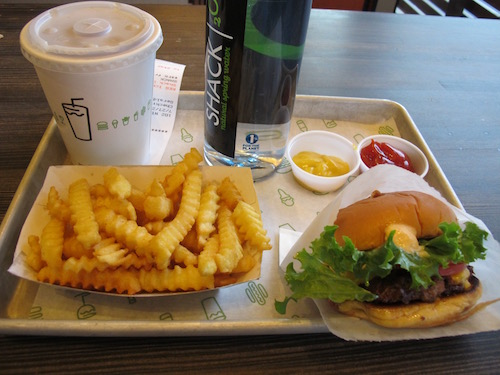 Shake Schack Burger et ses frites