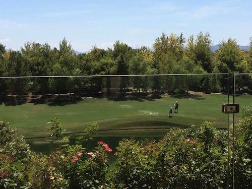 golfeurs au Wynn