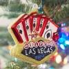Boule sapin Las Vegas