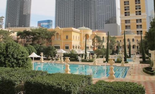 piscine Bellagio Las Vegas