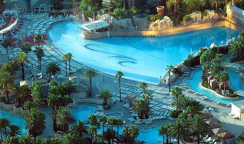 piscine Mandalay Bay Las Vegas