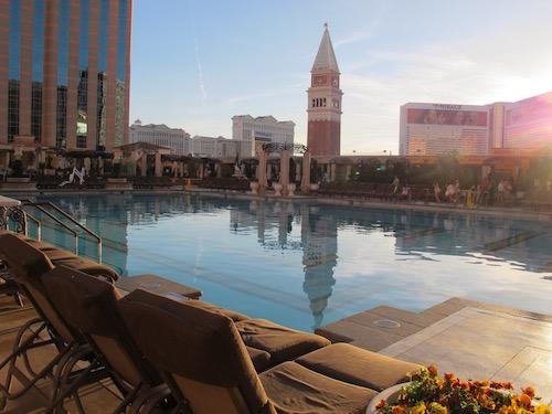 piscine Venetian Las Vegas