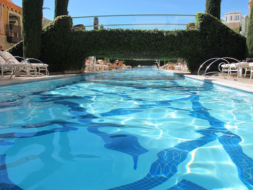 piscine Wynn Las Vegas
