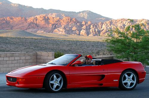 04 Ferrari355spider RedRockCanyon2 PhotoSebastienJACQUES