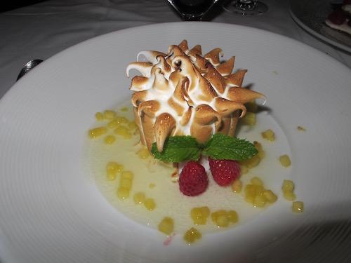 dessert Retaurant tour Eiffel