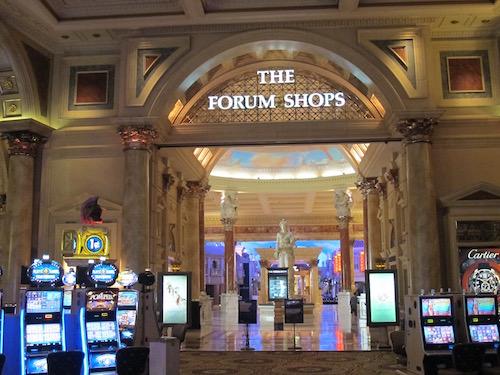 traversée casino pour Forum Shops