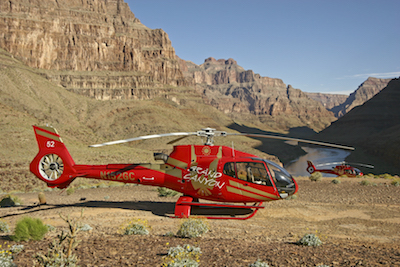 Grand Canyon helicoptère
