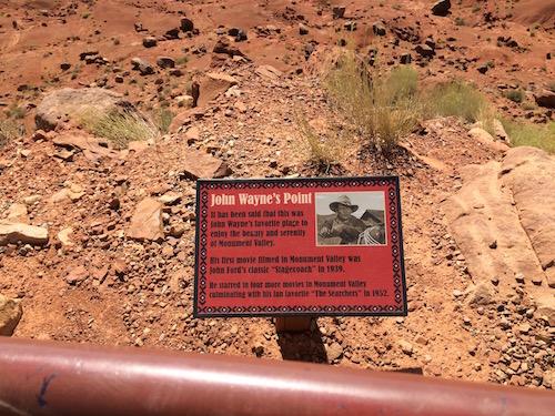 John Wayne's Point