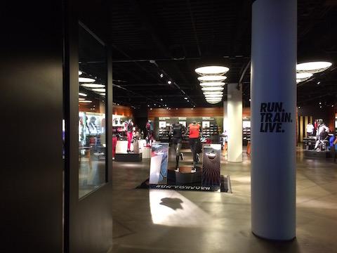 Nike store Forum Shops Las Vegas