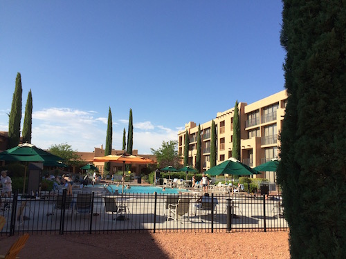 piscine Marriott Courtyard Page