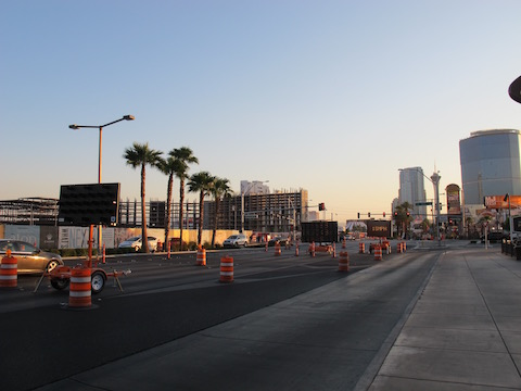 travaux nord strip las vegas