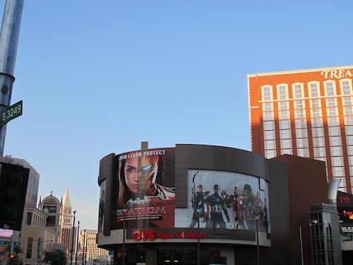 Avengers Station Las Vegas TI