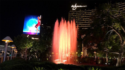 Fountains Wynn night