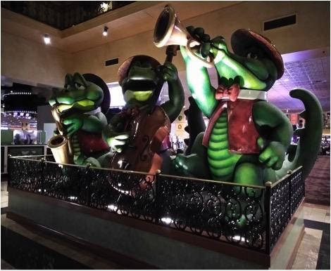 Aligators Hotel Orleans Las Vegas