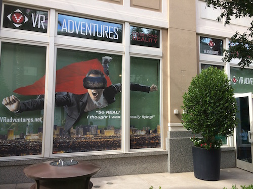 VR adventures Las Vegas